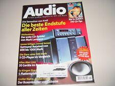 AUDIO Hifi Zeitschrift Heft 11/1996