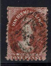 Tasmania SG# 57, Used, Some Clipped Perfs -  Lot 031316
