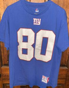 Majestic New York Giants Victor Cruz #80 Tshirt Size LG