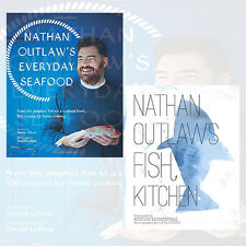 Nathan Outlaw Collection 2 Books Set Everyday Seafood & Fish Kitchen , New