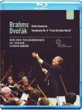 Brahms: Concerto Per Violino; Dvorak: Sinfonia N.9 / Abbado, Gil Shaham Blue ray