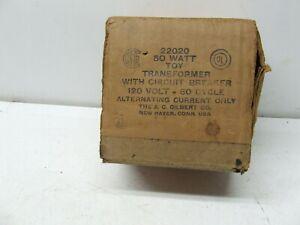 AMERICAN FLYER 50 WATT TRANSFORMER EMPTY BOX