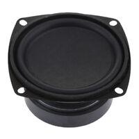 3'' 8ohm 25W Stereo Audio Speaker Woofer Subwoofer Bass Horn Loudspeaker