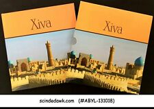 COLLECTION OF UZBEKISTAN KIVA STAMPS IN BEAUTIFUL STAMP BOOK
