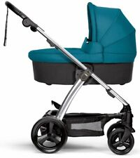Mamas & Papas Urbo2 and Sola Carrycot - Petrol Blue - New! Free Shipping! Urbo 2