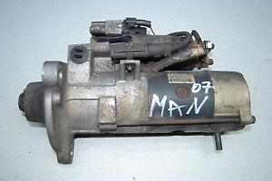 MAN TGA Bj.2007 Anlasser Starter 24V 51.26201-7199 Type M009T61971 Mitsubishi