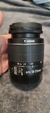 Canon EF-S 18-55mm f/3.5-5.6 IS Lens *For Parts AS IS*