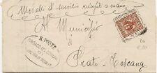 P8811   Firenze, Barberino di Mugello, annullo tondo riquadrato, 1906