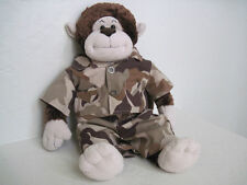 """18"""" Build A Bear STITCHED WITH LOVE MONKEY Plush"""