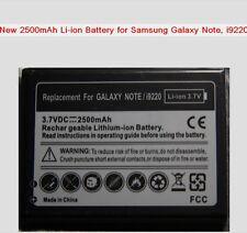 2 x 2500mAh Li-ion Batteries for Samsung Galaxy Note I9220