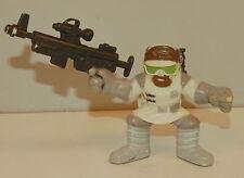 """2006 Hoth Rebel Trooper Soldier 2"""" Star Wars Hasbro Galactic Heroes"""
