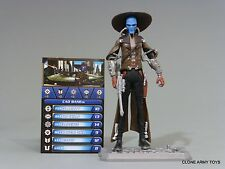 STAR WARS CAD BANE CLONE COLLECTION BOUNTY HUNTER CW13 TCW SOTDS LOOSE