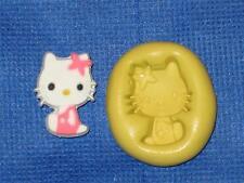 Hello Kitty Push Mold Food Safe Silicone #806 Fondant Cake Chocolate Resin Clay