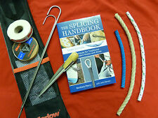 ROPE gift set, splicing kit, book and rope. Splicing handbook