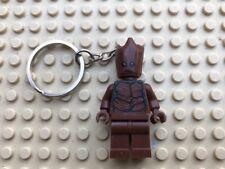 Groot Guardians Of The Galaxy Mini-Figure Keyring / Keychain UK SELLER