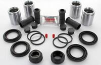 FRONT Brake Caliper Repair Kit +Pistons for AUDI A4 2.7 S4 1999-2001 (BRKP191)