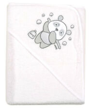 Helicopter White /& Blue Cuddle Robe Infant  Hooded Bath Towel Baby