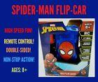 SPIDER-MAN REMOTE-CONROL FLIP CAR! Venom V Spiderman Fast Action!