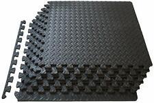 "Exercise Mat 13 mm (½""), EVA Foam Interlocking Tiles Protective"