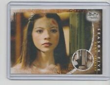 Buffy 10th Anniversary Trading Card #43 Michelle Trachtenberg as Dawn