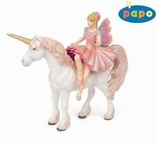 Papo 38822 Horse Elves Pink and Unicorn 15 cm Say and Fairytale