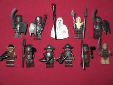 LEGO LOTR minifigures LOT Saruman , Goblins, Orcs Armor weapons etc