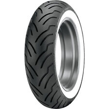 DUNLOP ELITE WIDE WHITE WALL WWW MU85B16 MU85-16 REAR TIRE HARLEY ROAD KING FLHR
