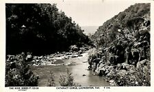 Postcard AUSTRALIA Tasmania Launceston Cararact Gorge Real Photo Rose Series