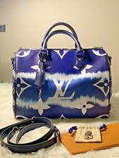 Limited Edition Louis Vuitton Speedy Bandouliere 30 Escale Blue