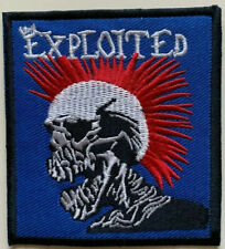 Exploited Punk Band- Jacket- Jeans - MOTOR - Embroidered Iron on Sew on PATCH