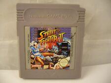 Nintendo Game Boy  Street Fighter II  DMG-ASFP-EUR