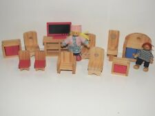 CASA delle Bambole Modern Family denim abiti di bambole in miniatura scala 1:12 serie di abbigliamento