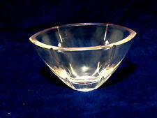 """Lenox Pink Crystal """"Gift of Knowledge"""" 7"""" Candy Dish Bowl"""