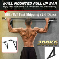 DHL Gym Wall Mount Pull up Bar Chin Exercise Equipment Upper Body Home Work Out