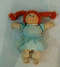 Vintage Cabbage Patch Kid Doll Red Hair Blue Eyes