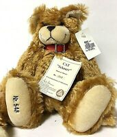 Hermann Limited Edition SCHNURR Mohair Cat Plush Collectible