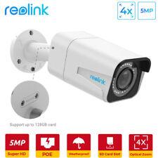 Reolink Cámara de Vigilancia Exterior PoE 5MP Súper HD 4X Zoom Óptico RLC-511