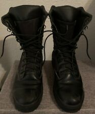 Rocky Men's Tactical Black Upper Leather Lace- Up Boots. Size 9M