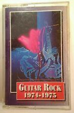 Guitar Rock Cassette 1974-1975 Vtg 1993 Warner BTO Alice Cooper Skynrd Bros Test