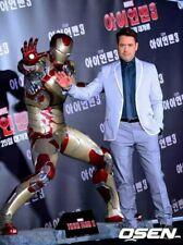 Hot Ori Marvel 1/1 Iron Man 3 Mark XLII MK42 Life Size Led Statue(6 Not Toys)