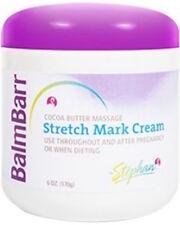 Balm Barr Stretch Mark Cream Cocoa Butter 6 oz