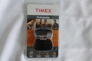 New In Original Package TIMEX Pedometer Black # 288174