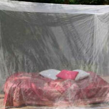 Outdoor Mosquito net double size canopy 4 post bed travel holiday accessories Np