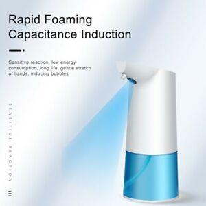 350ml Automatic Dispenser Sanitizer Hands Touchless Liquid Soap Dispenser White