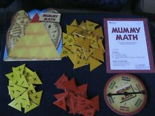 Learning Resources Mummy Pyramid Addition and Subtraction Math Game