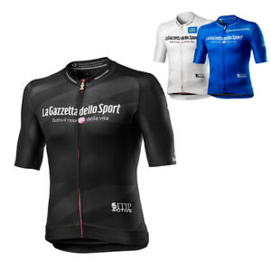 Mens GIRO D'ITALIA Cycling Jerseys Cycling Short Sleeve Jersey Bicycle Top