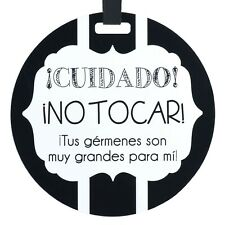 THREE LITTLE TOTS - Spanish & English Tag - (Baby Safety Sign, Newborn, Baby ...