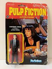 """PULP FICTION VINCENT VEGA 3 3/4"""" ACTION FIGURE FUNKO REACTION RETRO"""