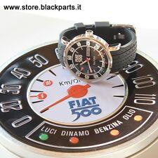 Orologio FIAT 500 cinturino -nero
