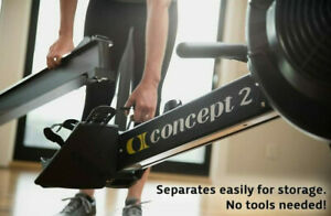 Concept2 Model D Indoor Rower with PM5 Performance Monitor - Black